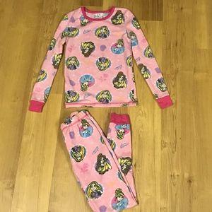 Disney Princesses Pajamas Set-Girls Size 8